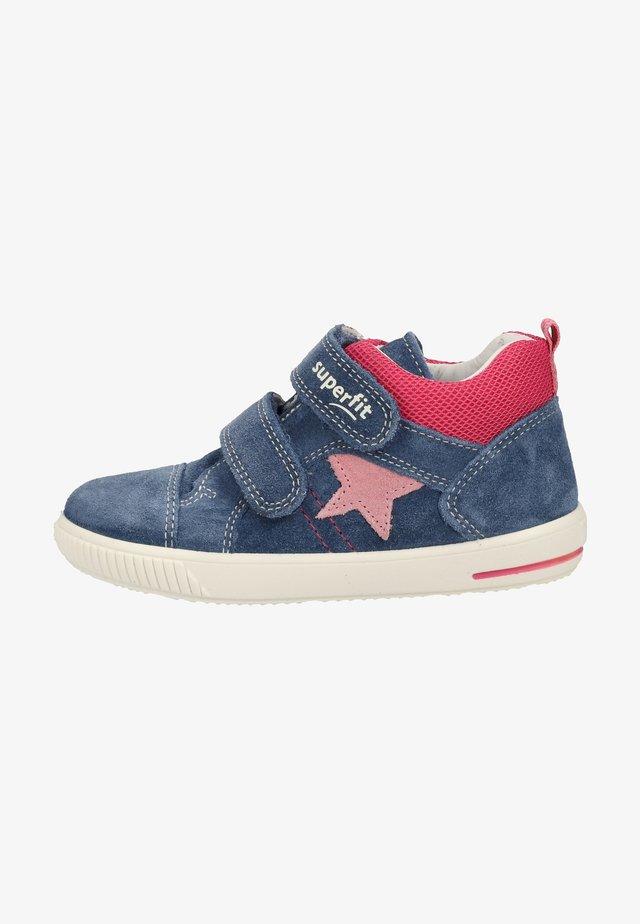 Zapatos con cierre adhesivo - blue/pink