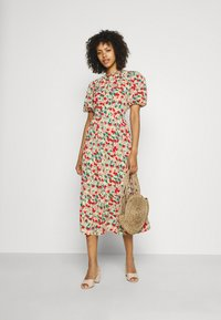 Missguided - OPEN BACK DRESS - Day dress - sage - 1