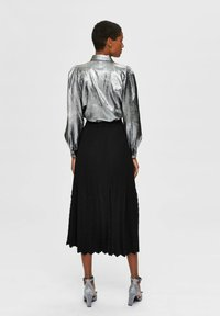 Selected Femme - Button-down blouse - silver - 2