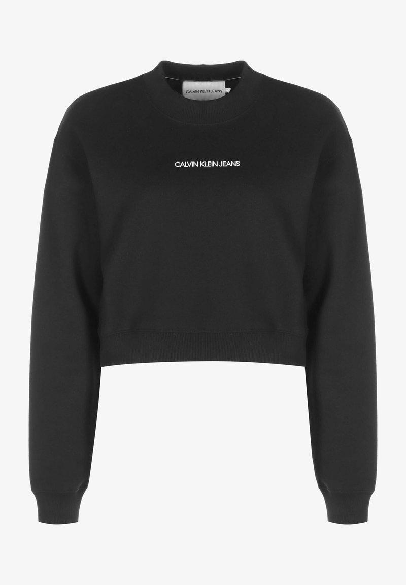 Calvin Klein Jeans - BOYFRIEND - Sweatshirt - ck black