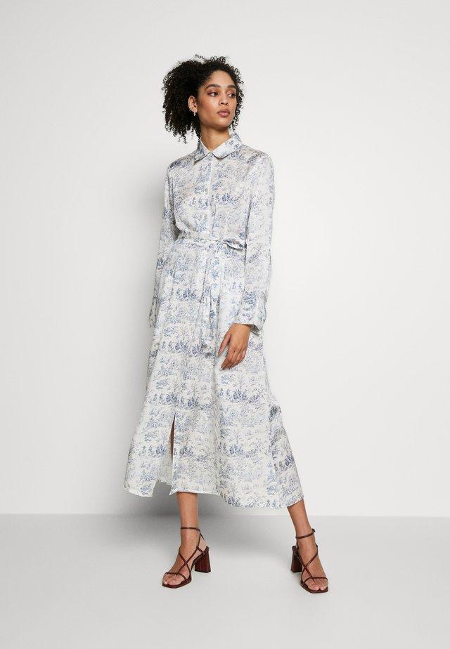 MARGOT DRESS - Skjortekjole - blue toile de jouy