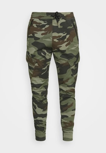 JOGGER UTILITY - Cargo trousers - dusty olive