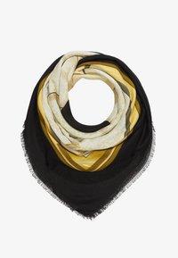 Guess - KELSEY KEFIAH - Foulard - black/yellow - 1