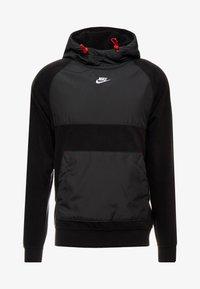 Nike Sportswear - HOODIE WINTER - Hættetrøjer - black/off noir/gym red/white - 3