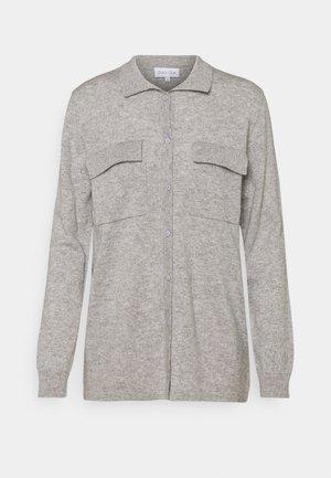 CLASSIC POCKET - Cardigan - light grey
