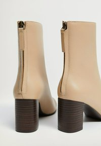 Mango - COMFY - Classic ankle boots - ecru - 5