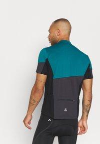 LÖFFLER - BIKE BLOCK - T-shirt imprimé - pine - 2