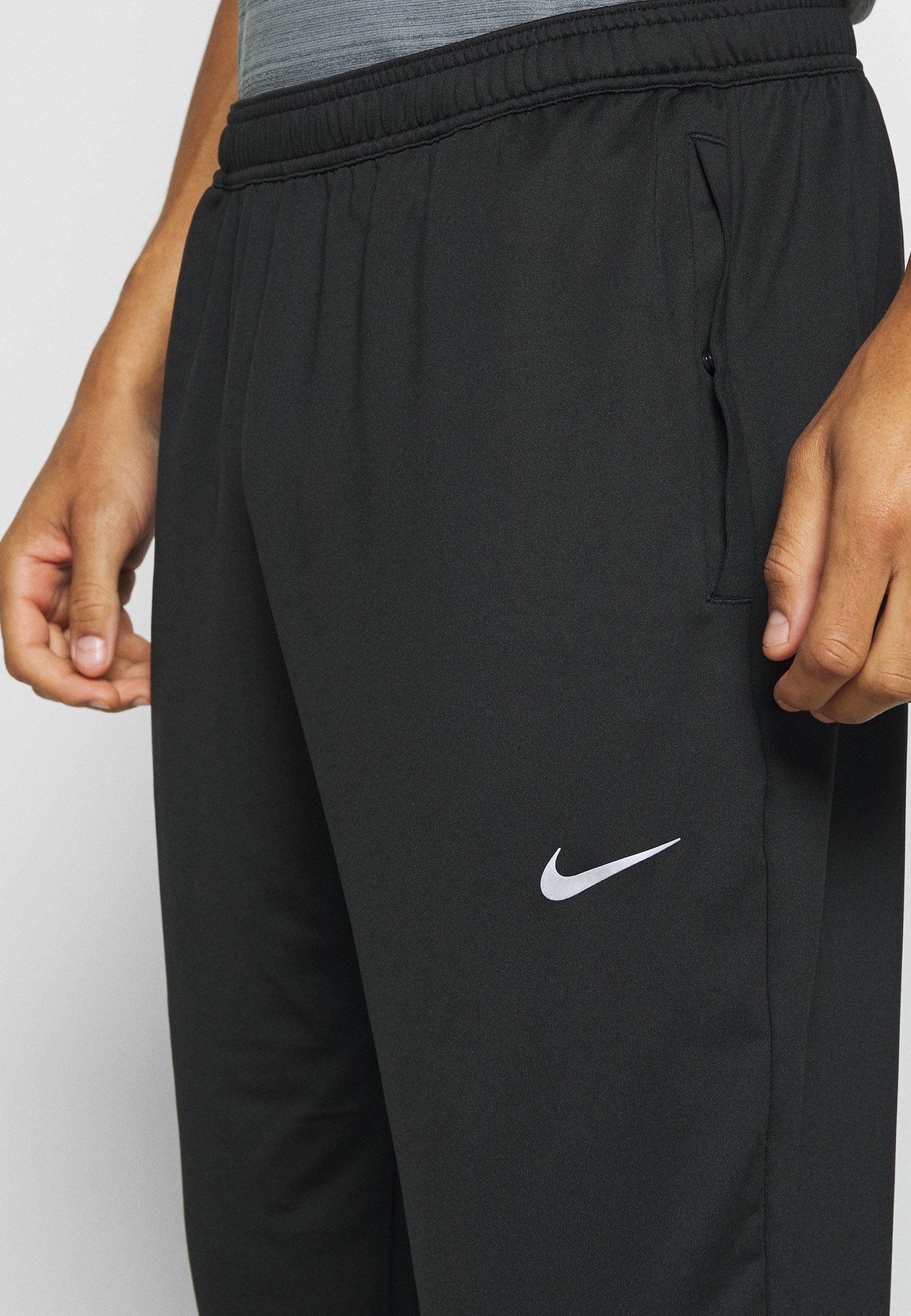 Nike Performance RUN STRIPE PANT Joggebukse blacksilver