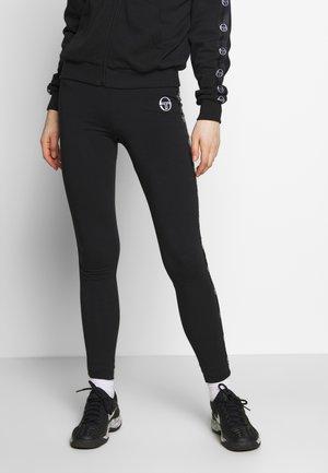 FIAMMA LEGGINGS - Leggings - black/white