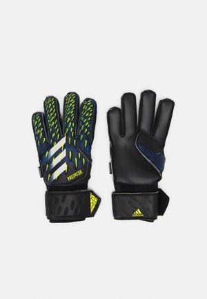 UNISEX - Goalkeeping gloves - black/royal blue/shock yellow/white