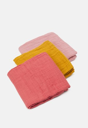 SWADDLE & BURP BLANKET 3 PACK UNISEX - Harsoliina - multi-coloured