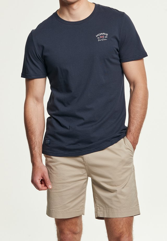 LÉONCE TEE - T-shirt med print - blue