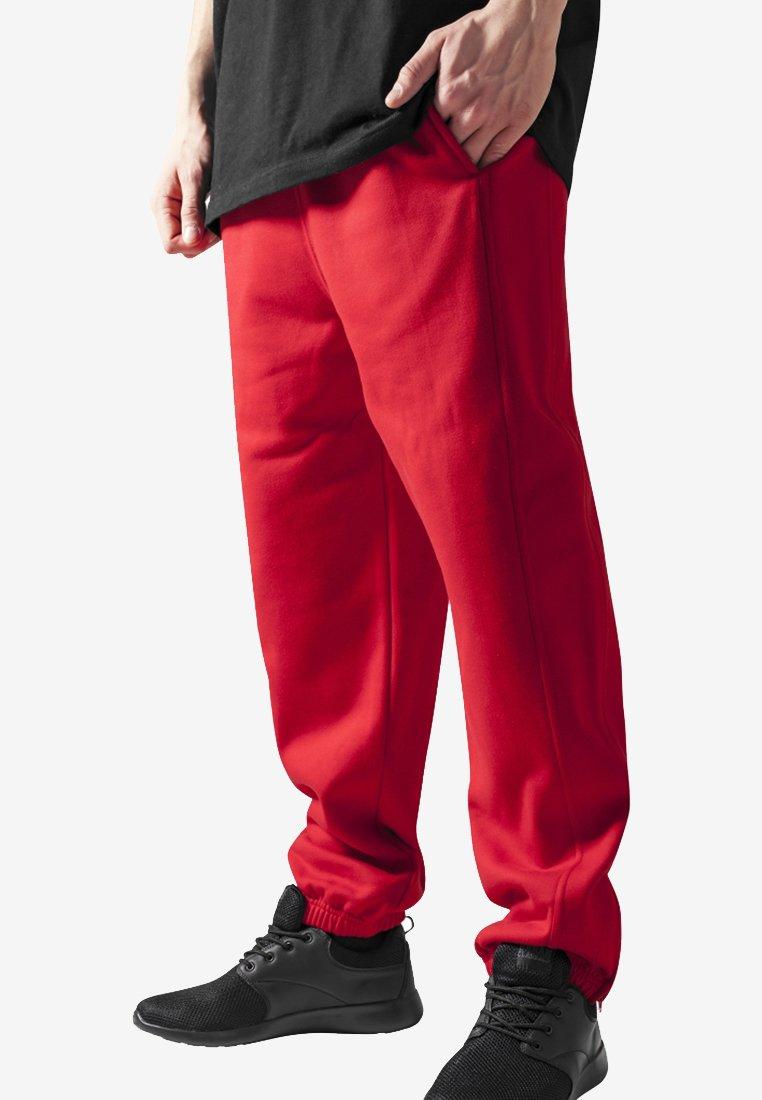 Urban Classics - SWEATPANTS SP. - Tracksuit bottoms - red