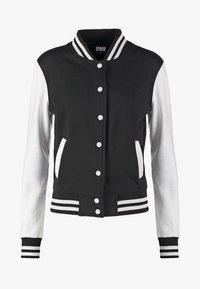 Bomber Jacket - black/white