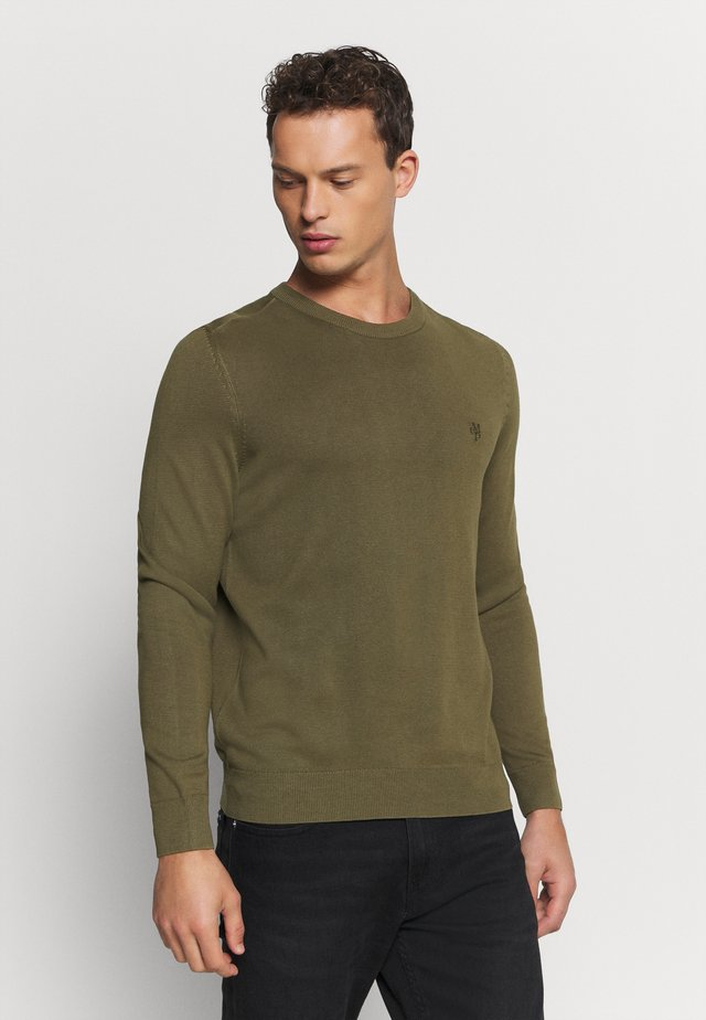 CREW NECK - Jumper - ivy green