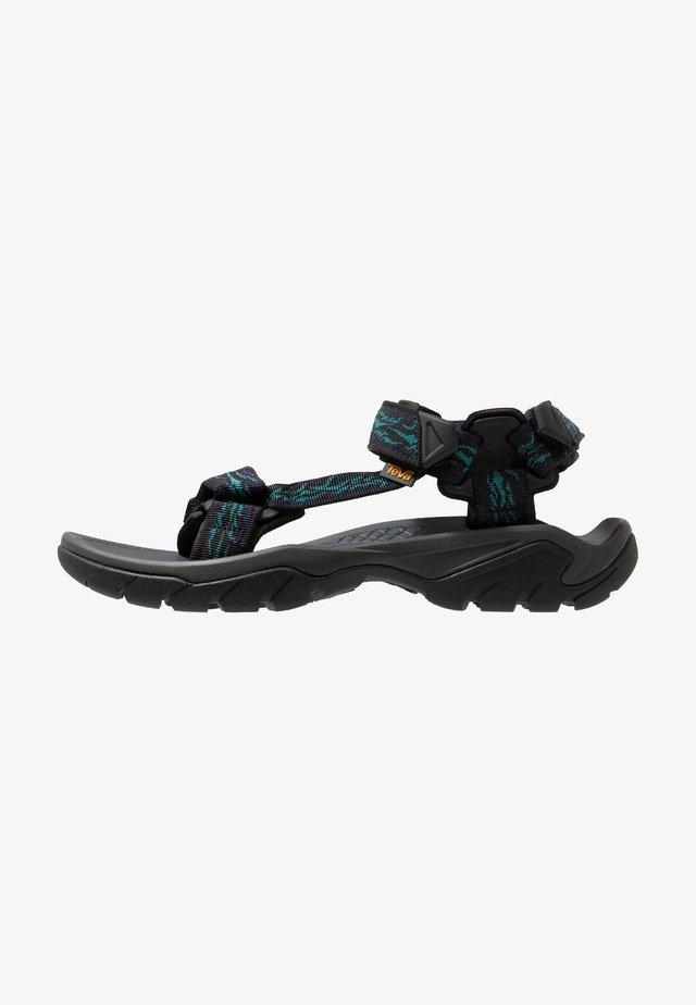 TERRA FI 5 UNIVERSAL - Walking sandals - manzanita dark eclip