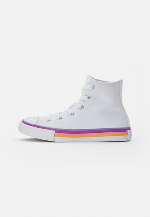 CHUCK TAYLOR ALL STAR MIDSOLE - High-top trainers - white/twilight pulse/white