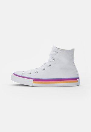 CHUCK TAYLOR ALL STAR MIDSOLE - Zapatillas altas - white/twilight pulse/white