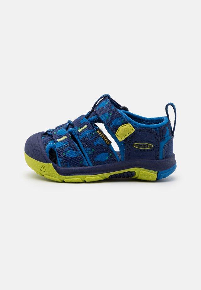 NEWPORT H2 UNISEX - Sandały trekkingowe - blue depths/chartreuse