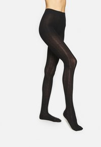 KUNERT - PLAIT - Tights - black - 1