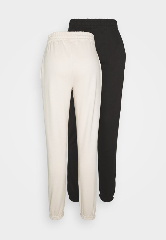 2 PACKBASIC JOGGER - Joggebukse - sand/black
