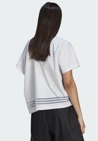 adidas Originals - Print T-shirt - white - 1