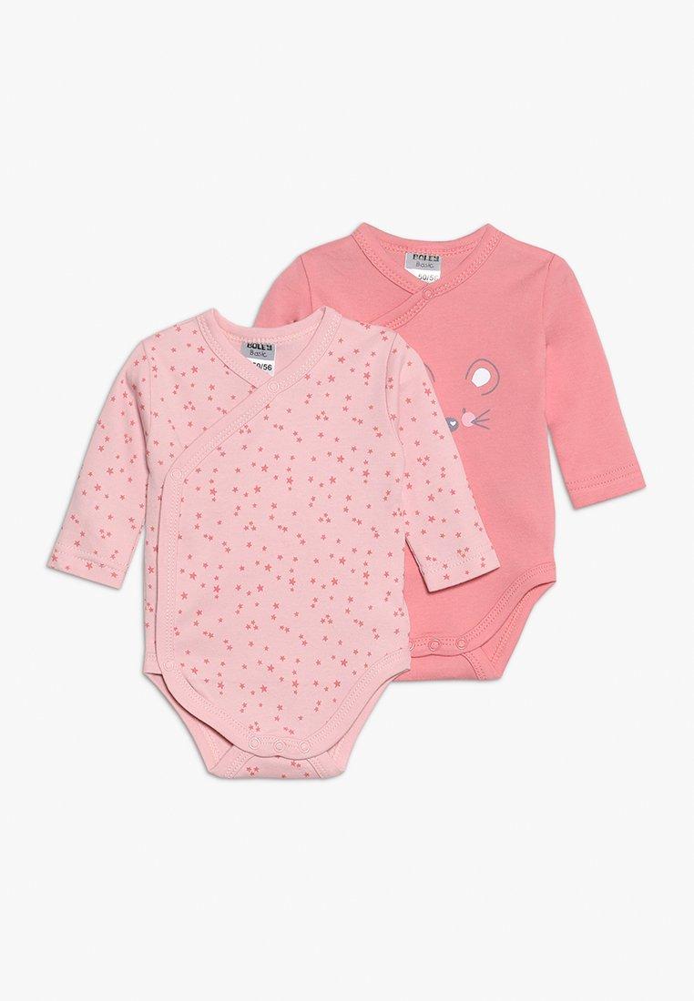 Jacky Baby - LANGARM GIRL 2 PACK - Body - light pink