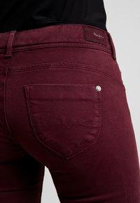 Pepe Jeans - KATHA - Bukse - bordeaux - 3