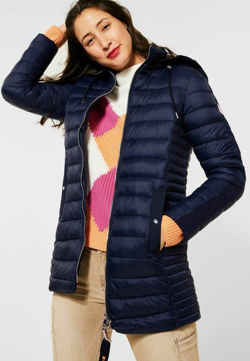 Street One - Winter coat - blau