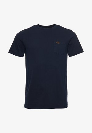 T-shirt print - super dark navy