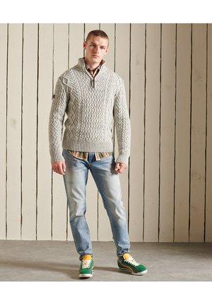JACOB HENLEY  - Pullover - concrete twist