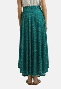 Esprit - Maxi skirt - teal green - 2