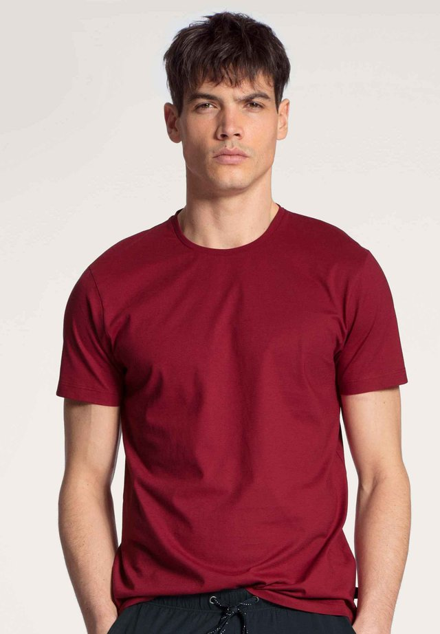 Basic T-shirt - rumba red