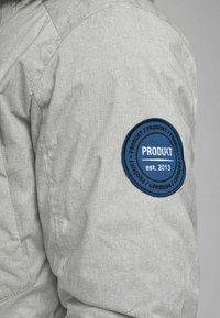 Produkt - Winter coat - light grey melange - 5