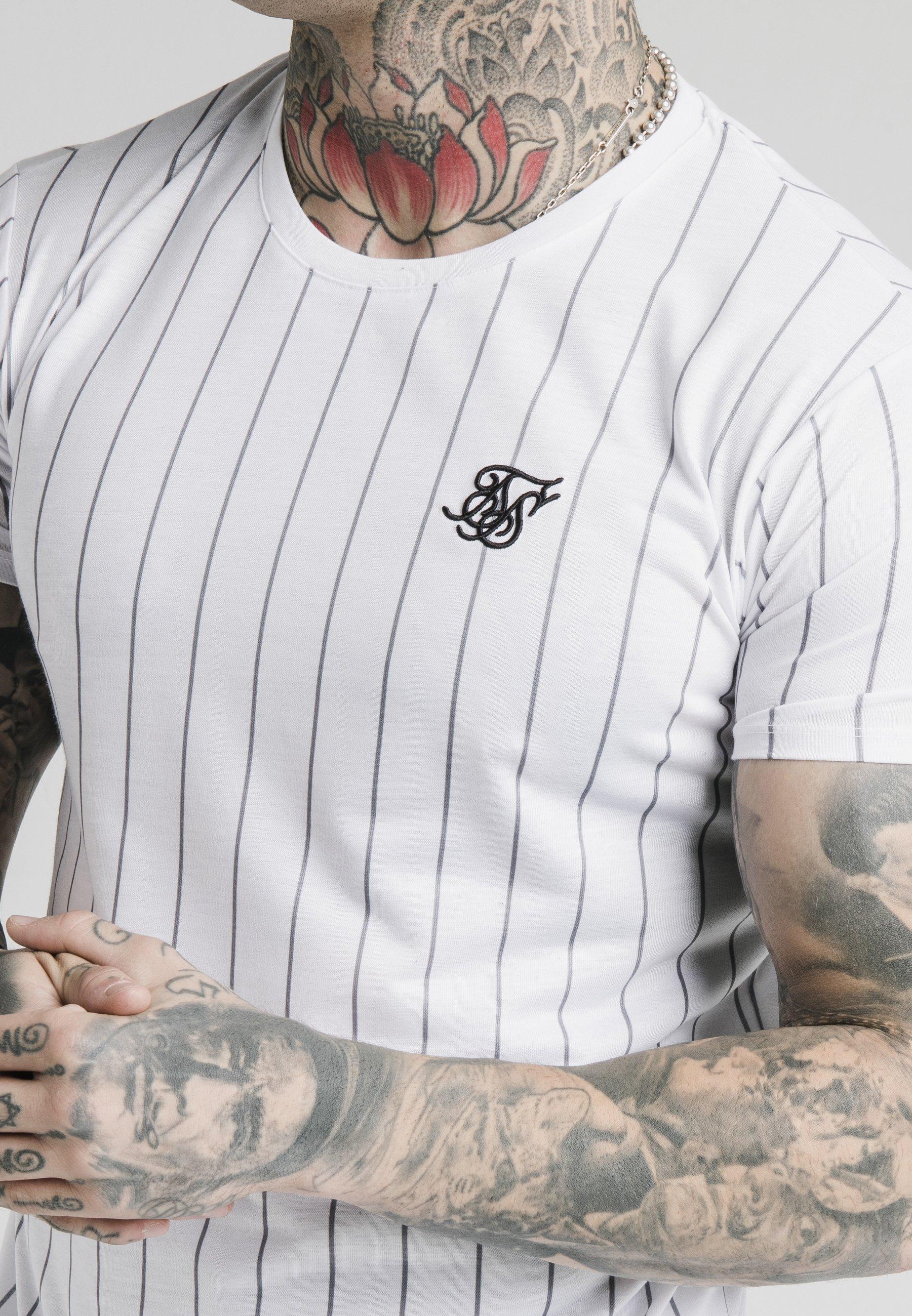 Homme PINSTRIPE TEE - T-shirt imprimé