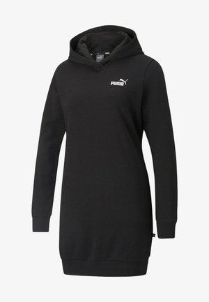 ESSENTIALS HOODED KVINDE - Day dress - puma black