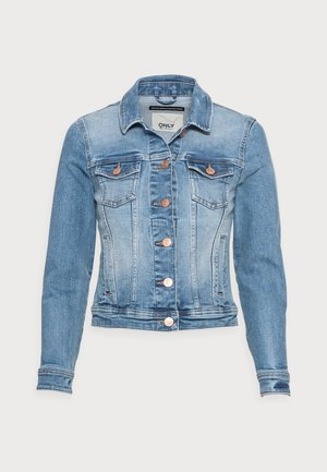 ONLTIA LIFE JACKET - Denim jacket - light blue denim