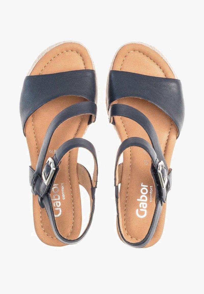 Gabor - Wedge sandals - blue