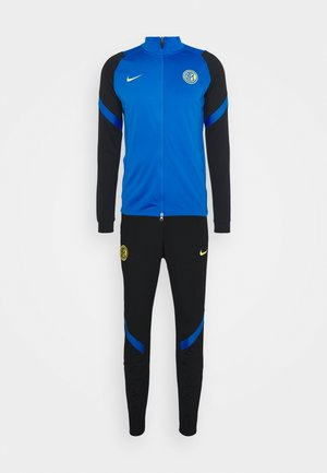 INTER MAILAND DRY SUIT - Article de supporter - black/blue spark/tour yellow