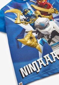 Next - LEGO NINJAGO T-SHIRT - Print T-shirt - blue - 2