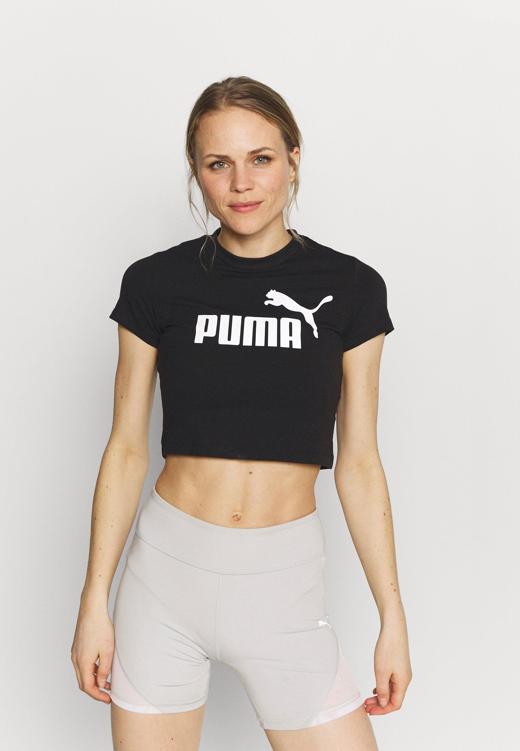 Women SLIM LOGO TEE - Print T-shirt