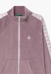 Benetton - BASIC GIRL  - Mikina na zip - lilac - 2