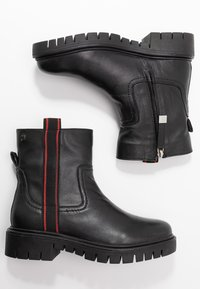 Gioseppo - Platform ankle boots - black - 3