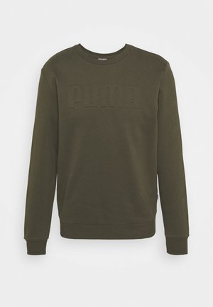 MODERN BASICS CREW  - Sweatshirt - forest night