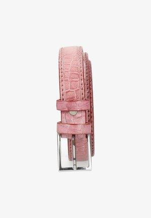 LINDA CROCK LILAC CLASSIC BUCKLE - Riem - pink