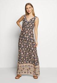 LASCANA - MAXI DRESS - Complementos de playa - anthra bedru - 0