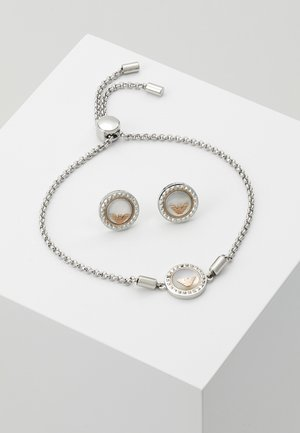 SET - Øredobber - silver-coloured