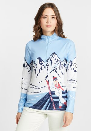 ANYONE - Long sleeved top - bright blue