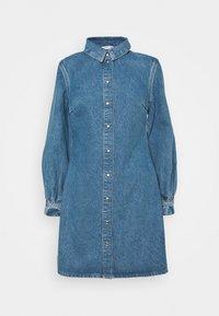 MOONSTONE DRESS - Denim dress - true blue