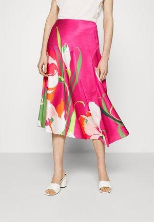 AXELL - Spódnica trapezowa - pink